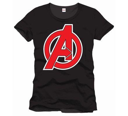 Tee-Shirt Noir Avengers Marvel