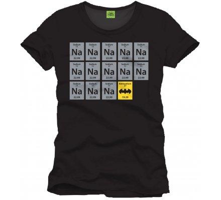 Tee-Shirt Noir Chemistry Batman