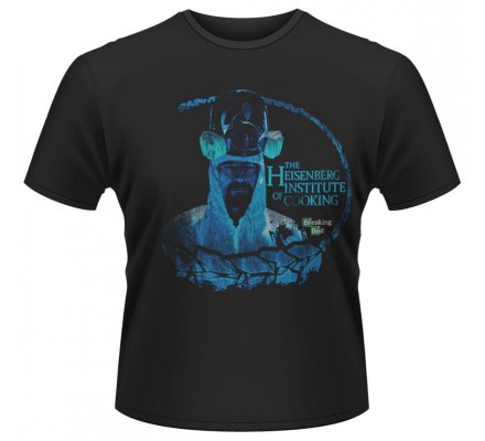 Tee-Shirt Noir Institute of Cooking Breaking Bad