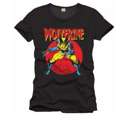 Tee-Shirt Noir Raging Wolverine