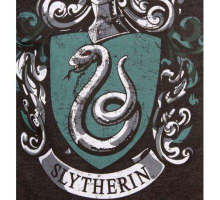 Tee-Shirt Noir Serpentard Harry Potter