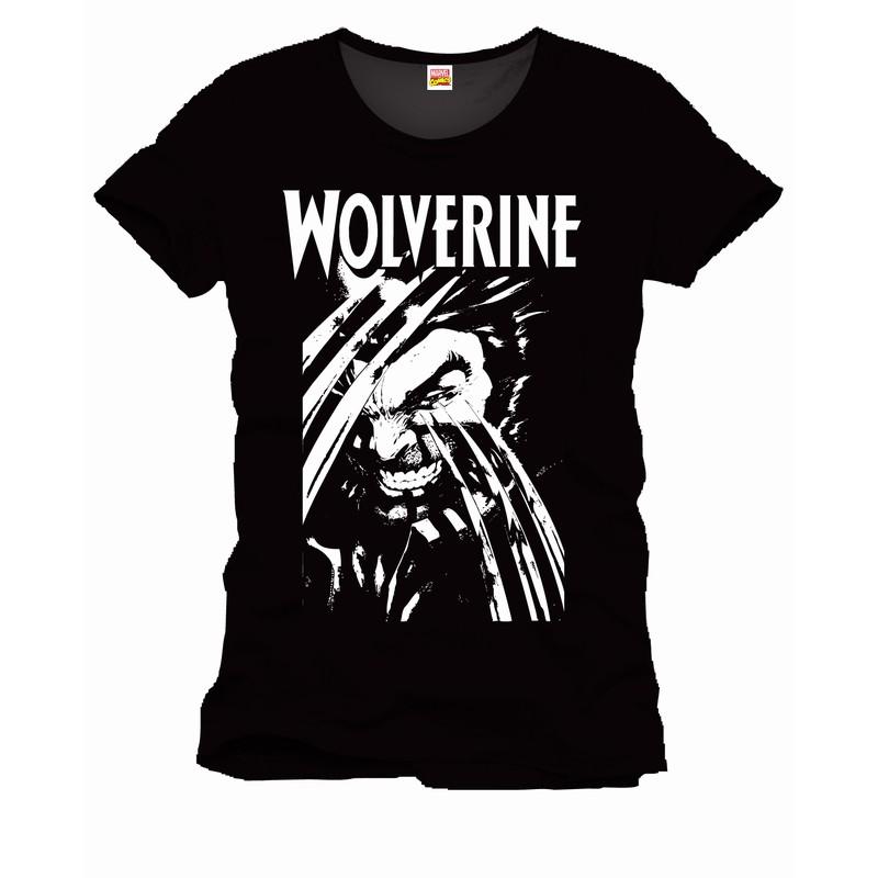 Tee shirt noir claws wolverine 968 for Film noir t shirts