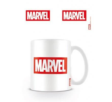 Mug Blanc Logo Marvel