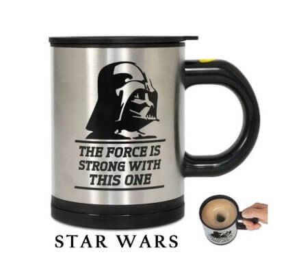 Mug Mélangeur Dark Vador Feel The Force Star Wars