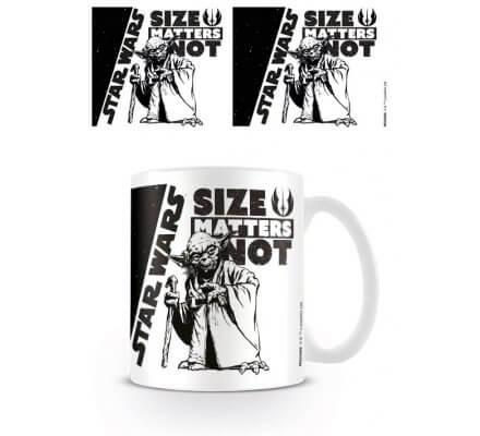 Mug Yoda Size Matters Not Star Wars